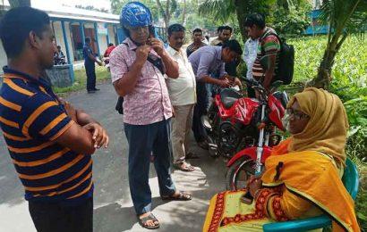 নাটোরের বাগাতিপাড়ায় লাইসেন্স ও ফিটনেসবিহীন ১১ গাড়ির চালককে অর্থদন্ড